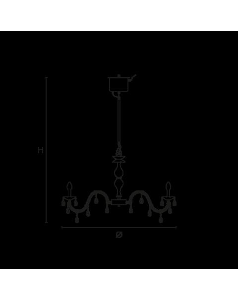 Masiero - Drylight S12 Chandelier