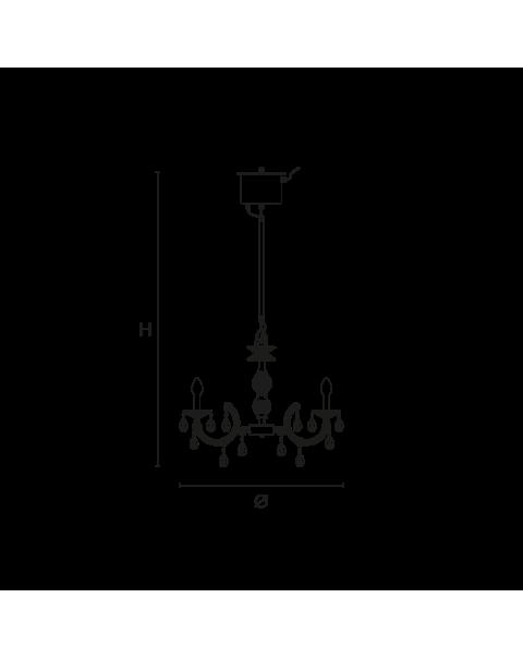 Masiero - Drylight S6 Chandelier