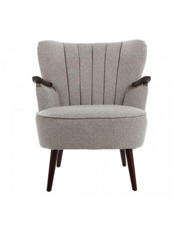 Premier Housewares Hampstead Taupe Fabric Armchair