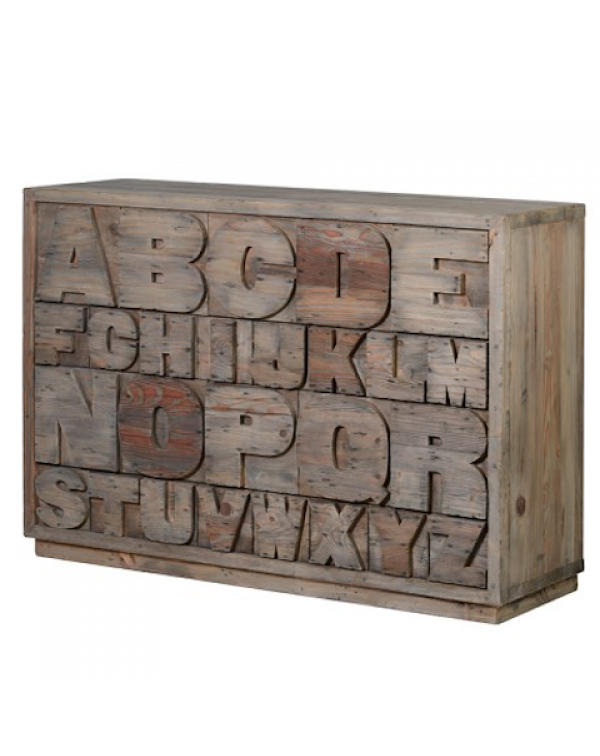Alphabet Chest Drawers
