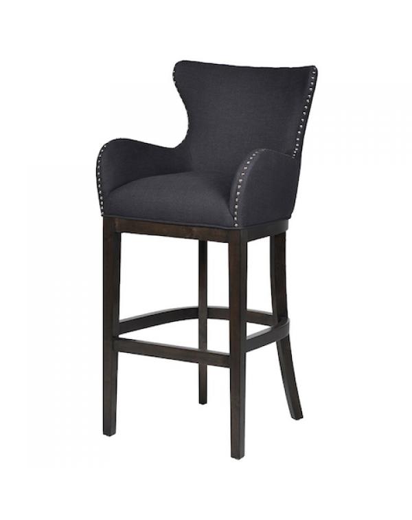 Black Shaped Bar stool
