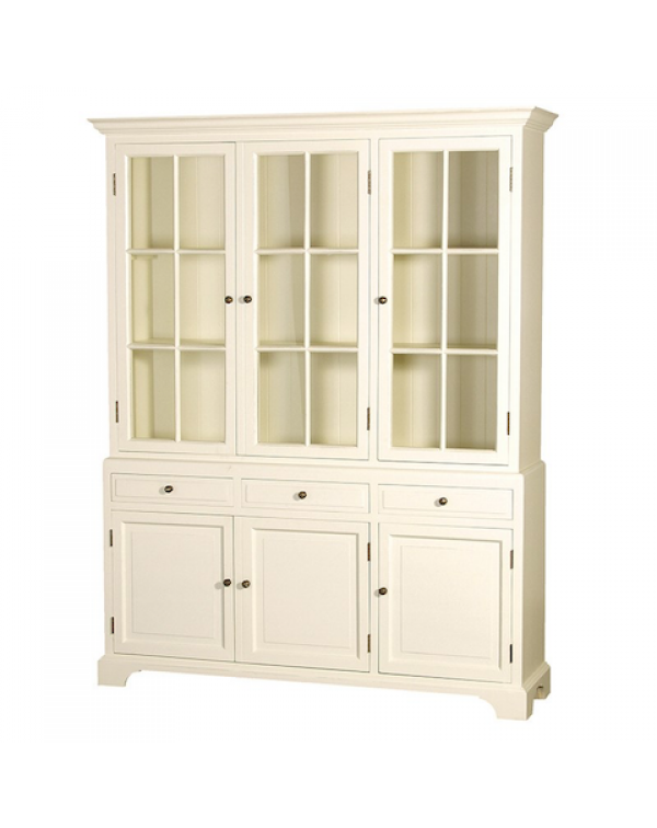 Cream Fayence 5Ft.Dresser