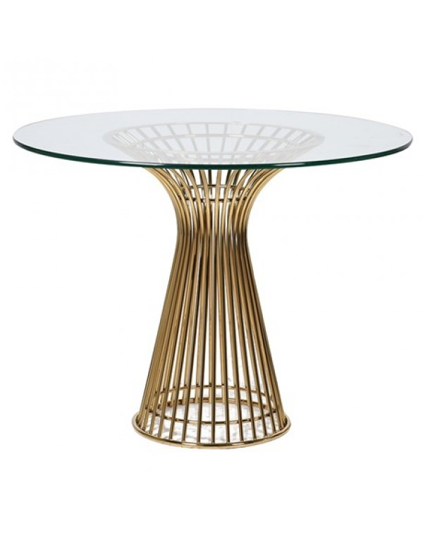 Gold Stainless Dining Table