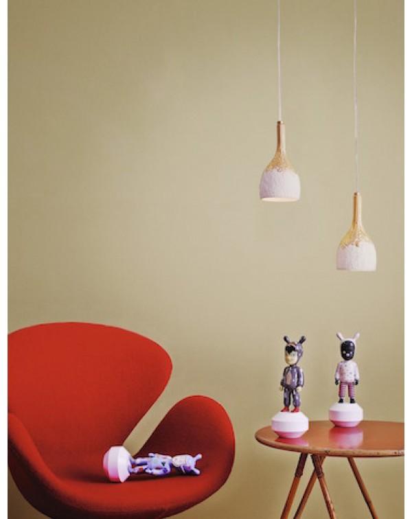 Lladro - Naturofantastic Ceiling Lamp Golden Luste...