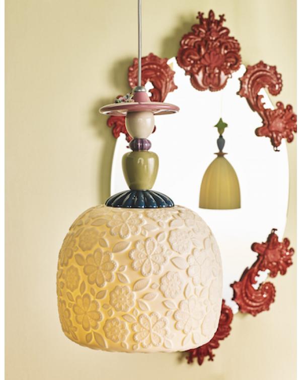 Lladro - Mademoiselle Annette Ceiling Lamp