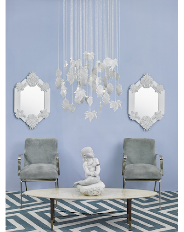 Lladro - Magic Forest Chandelier 0.80m