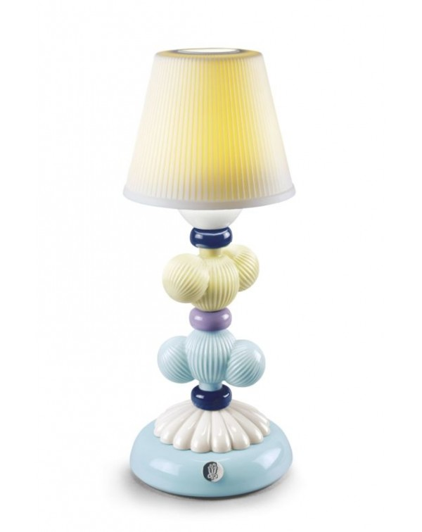 Cactus Firefly Table Lamp. Yellow and Blue