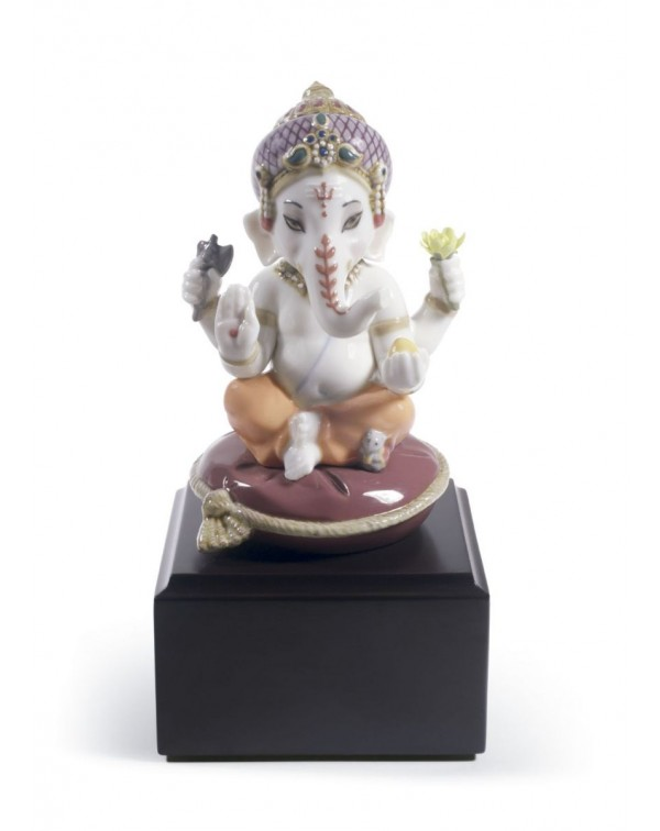 Lladro Bal Ganesha Figurine