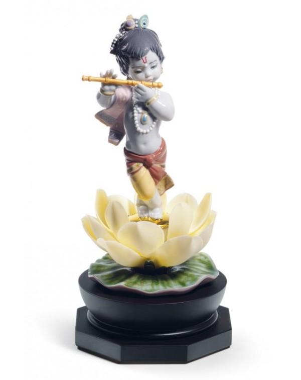 Lladro Bal Gopal Figurine