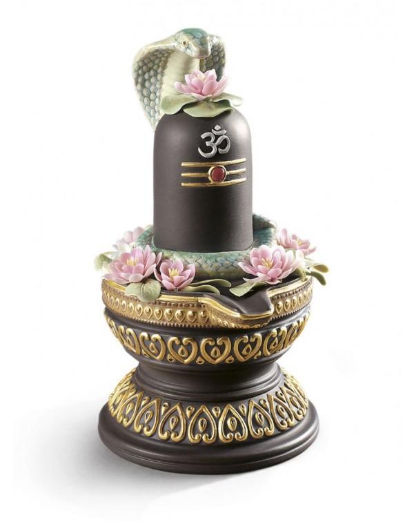 Lladro Lingam Figurine Golden Lustre
