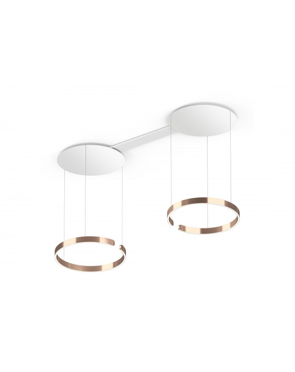 Mito - Suspended Duo White Ceiling 60cm