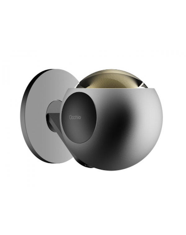 Occhio Io Pico Wall Light Black Satin