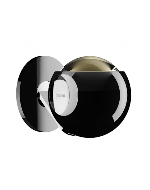 Occhio Io Pico Wall light Black Shine