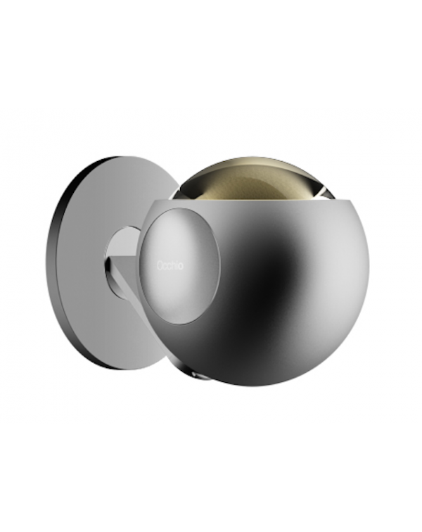 Occhio Io Pico Wall Light Chrome Satin