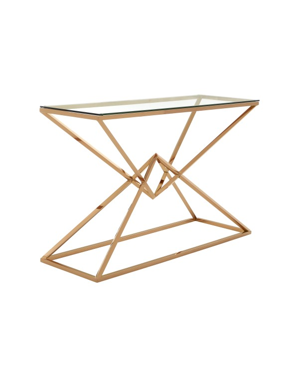 Premier Housewares Allure Console Table Integrate...