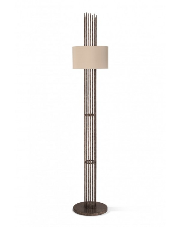Porta Romana - Flynn Caged Floor Lamp