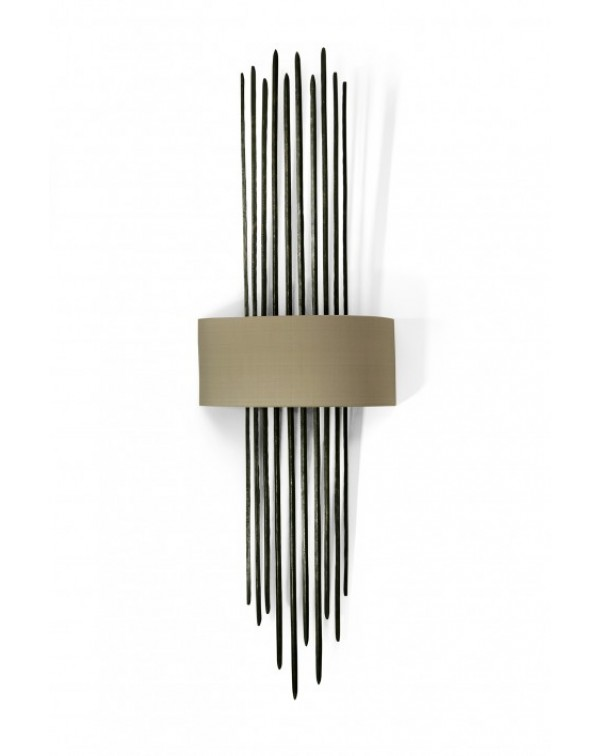 Porta Romana - Flynn Caged Wall Light