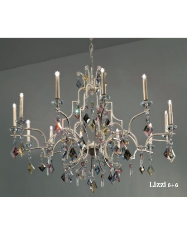 Masiero Lizzi 6+6 Chandelier Light