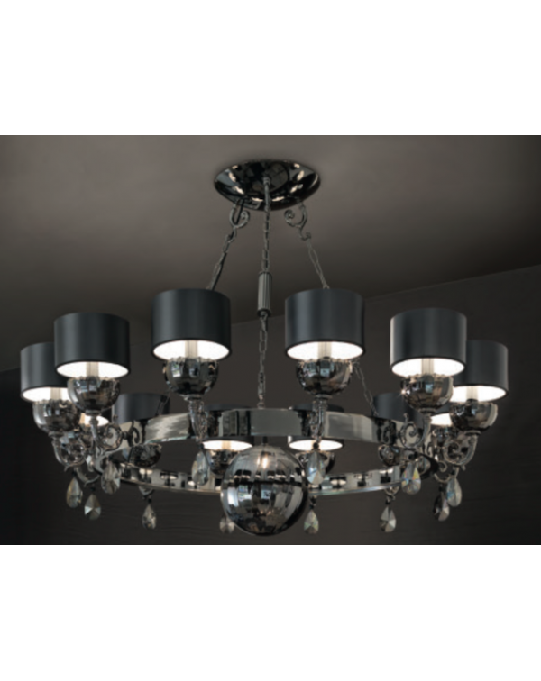 Masiero  - Nuare 12 - Chandelier Light