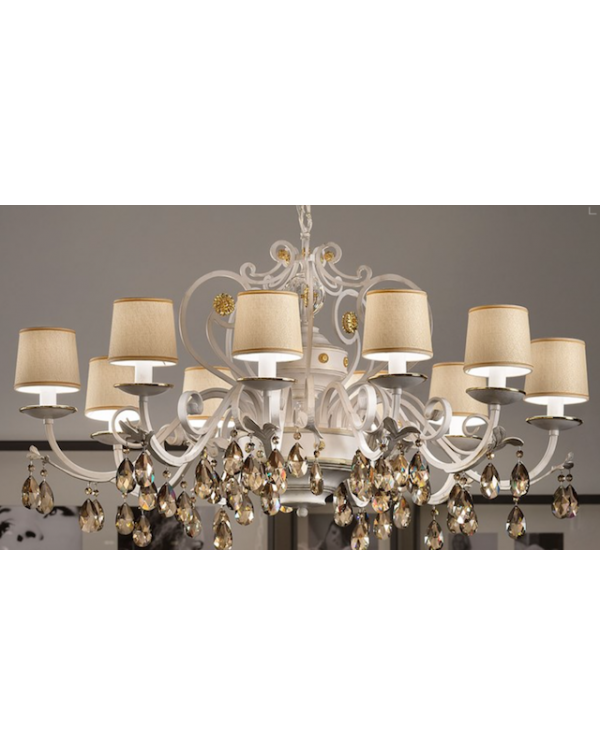Masiero - Allure 10  - Chandelier Light