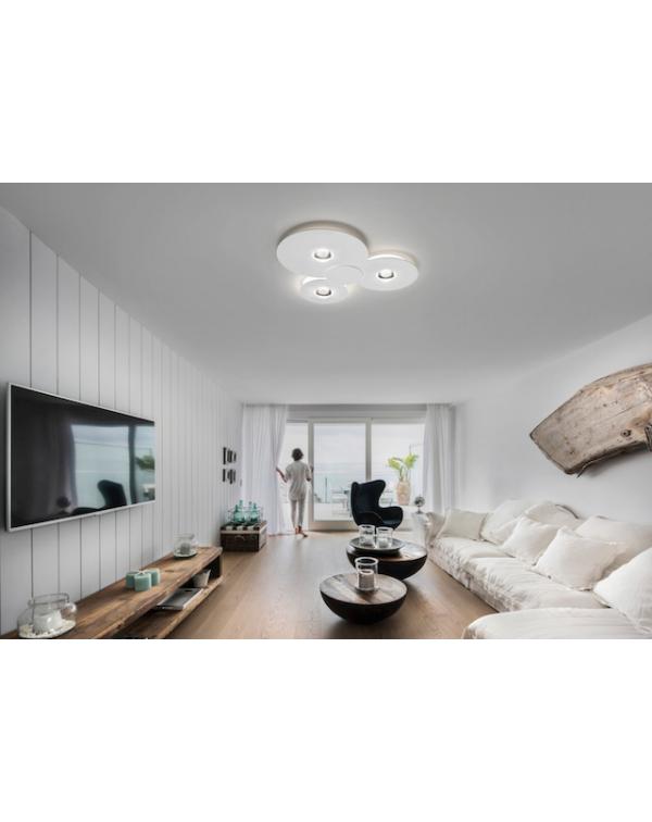 Studio Italia Bugia  Triple Ceiling Light