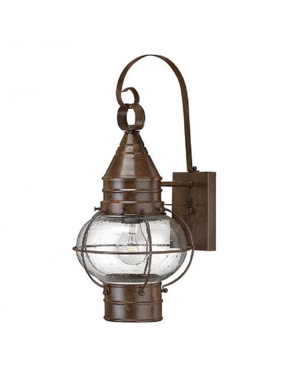 Capecod 1Lt Wall Lantern Light